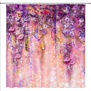 Other - Flower Floral Blossom Shower Curtain